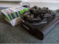 Xbox 360 Console with Kinect Camera and Lots of Games