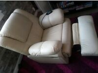 leather cinema full body massage chair