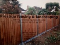 Prestige fencing and landscaping creating your perfect garden to a very high professional standard