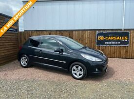 image for 2012 12 PEUGEOT 207 1.4 HDI SPORTIUM 3d 68 BHP***GUARANTEED FINANCE***PART EX WELCOME***