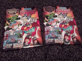 Transformer Rescue Bots Books