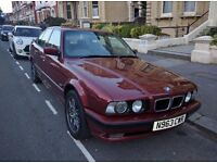 **Rare Car** BMW E34 520i SE - 1995- Long MOT- M5 Body Spec