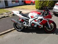 Yamaha r6 red white 19k swap/px welcome