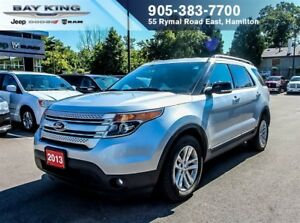 2013 Ford Explorer XLT, NAVI, BACK-UP CAM, LEATHER, 7 PASSENGER