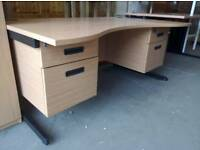 Top quality office desks 100s available. Delivery available