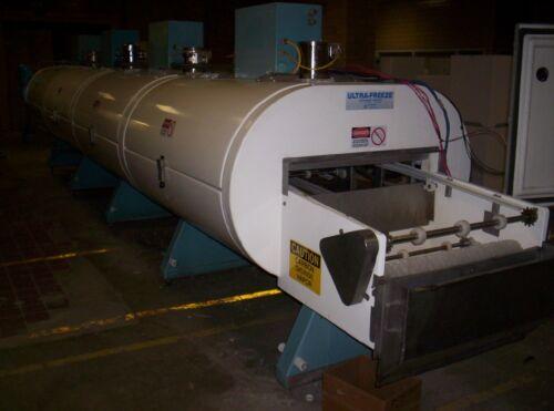"Cryogenic tunnel freezer 10 module 3 tier, Ln2 Nitrogen/CO2,refurbished 30"" belt"