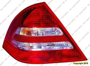 Tail Light Driver Side Sedan High Quality Mercedes C-Class 2005-2007