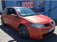 2005 Renault Megane 2.0 T 225 Renaultsport, AA COVER & AU WARRANTY INCLUDED, £1,795 ONO