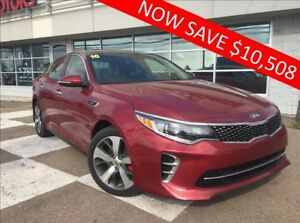 2016 Kia Optima SX TURBO over $10,508 OFF!! $80* WEEKLY