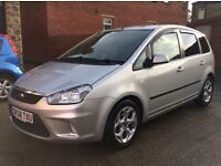 FORD C-MAX ZETEC 1.6 ALLOY WHEELS TESTED 12 MONTHS SERVICE HISTORY