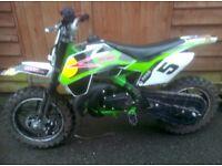 50cc mini crosser