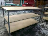 Large industrial benches. Delivery available