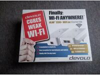 Devolo dLAN 1200+ Wireless Powerline Adapter Kit - Twin Pack