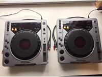 Pair of CDJ - 800 MK1s