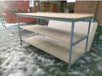 Industrial benches. Delivery available