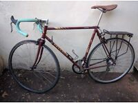 Refurbished 54cm 80s Peugeot racing bike