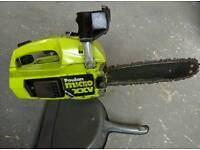 Top handled petrol chainsaw