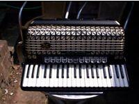Hohner Atlantic 120 bass Delux Piano accordion/accordian