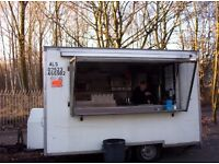 Burger van pitch / site