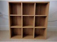 Ikea Oak Effect Shelves - 9 Shelves
