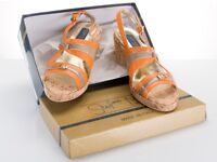 Summer Ladies sandals, Italian leather, size EU41/UK8, Stefano Marchi