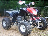 quad bike 200cc , Good condition, Black