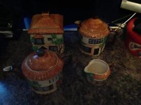 4 Beswick Cottage Ware Items