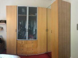 IKEA PAX wardrobe 6 door