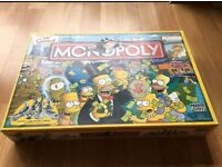 Simpsons Monopoly - complete used great condition