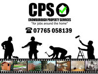 Crowborough Property Services - For Jobs Around The Home - Handyman - Decorating - Gardening