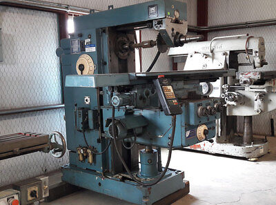 Heckert Horizontal Milling Machine Cat50 Sold As Is