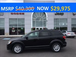 2017 Dodge Journey SXT SUNROOF, BACKUP CAMERA  ONLY $181* BI-WEE