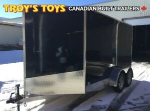 2018 Canadian Trailer Company 7X12 V-Nose Cargo Trailer