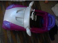 Pink 6v car