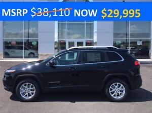 2017 Jeep Cherokee North 4x4 ONLY $179 BI-WEEKLY
