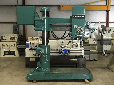 American Radial Drill Table 25 X 51
