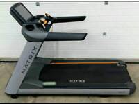 Matrix treadmill business commercial gym cardio not bike dumbell weights