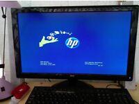 23 Inch AOC pc monitor