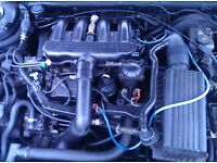 Peugeot 407 2.1td 12valve engine, gearbox & turbo, running.