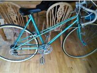 Vintage ladies road bicycle