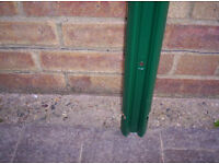 new fence palings x 6 green