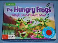'The Hungry Frogs' Magic Sound Board Game