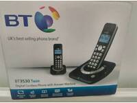BT 3530 digital answer phone twin pack