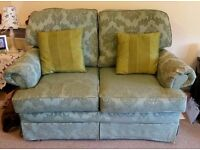 Compact 2-seater sofa and armchair - FREE to a good home!