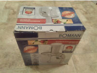 Used (one time) juicer Bomann