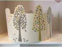 2x Children's light shades John Lewis