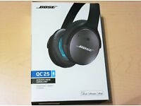 BOSE QC25 Headphones Quiet comfort 25 IOS APPlE New