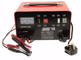 Maypole 716 12A Metal Battery Charger 12/24V ***ONLY 1 USE***
