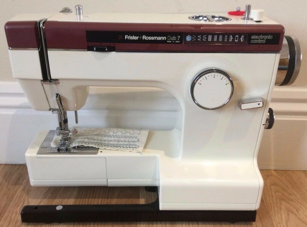 Frister & Rossmann Cub 7 Sewing Machine - Pre-Owned - Serviced With Warranty - UK Delivery Available