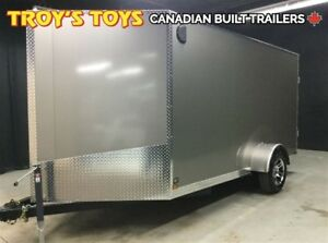 2017 Canadian Trailer Company 7X12 V-Nose Cargo Trailer